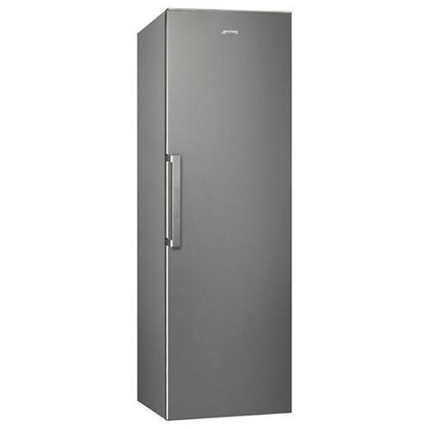 Smeg UK35PX4 Tall Freestanding Fridge - Silver