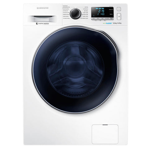 SAMSUNG ecobubble™ WD80J6410AW 8kg Washer dryer - White