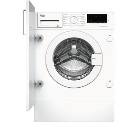 BEKO WIX765450 Integrated 7kg 1600rpm Washing Machine - White