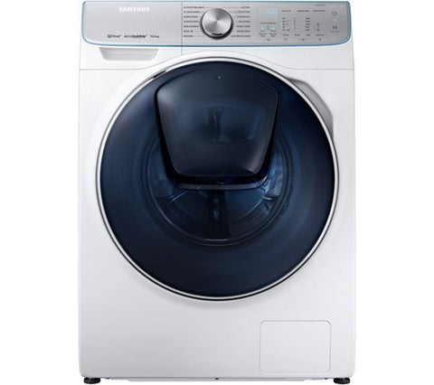 SAMSUNG QuickDrive WW10M86DQOA Smart 10kg 1600 Spin Washing Machine A+++(-50%) - White