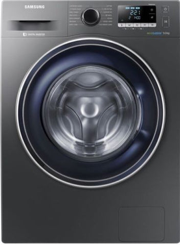 SAMSUNG ecobubble WW90J5456FX 9 kg 1400 Spin Washing Machine - Graphite