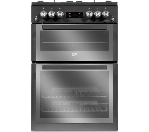 BEKO XDVG674MT 60cm Gas Cooker - Anthracite