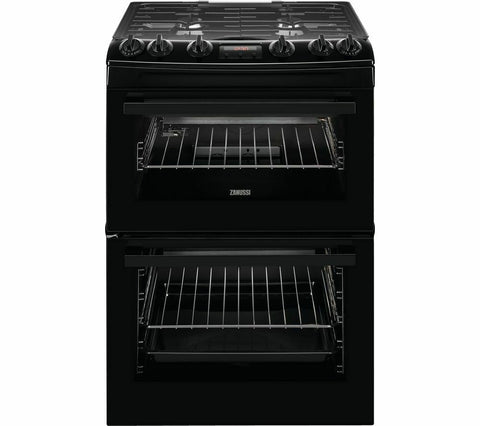 ZANUSSI ZCG63260BE 60 cm Gas Cooker - Black