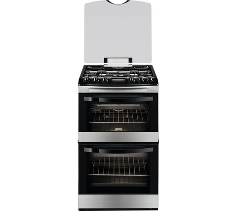 ZANUSSI ZCG43200XA - 55cm Gas Cooker - Stainless Steel