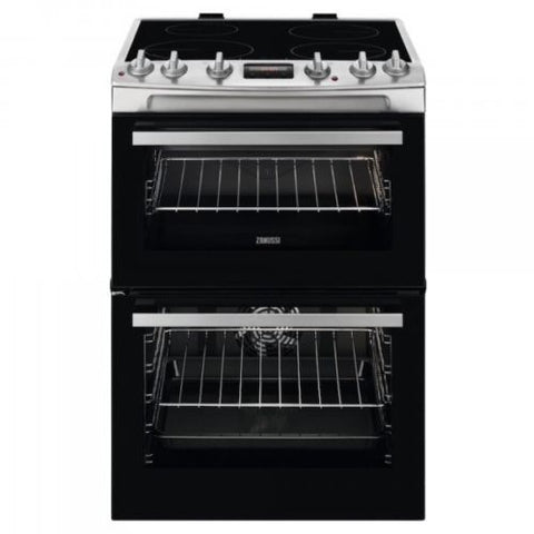 Zanussi ZCI66250XA 600mm Cooker with Induction Hob - Black