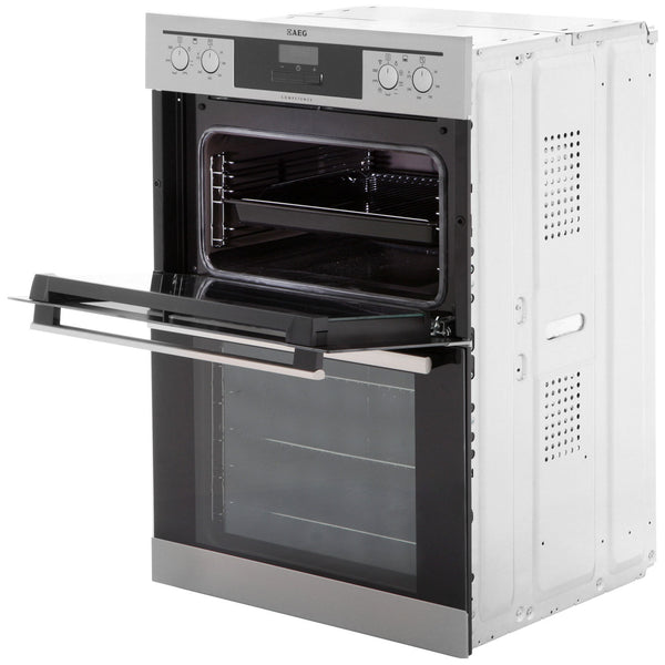 Aeg Dc4013021m Built In Electric Double Oven Led Display