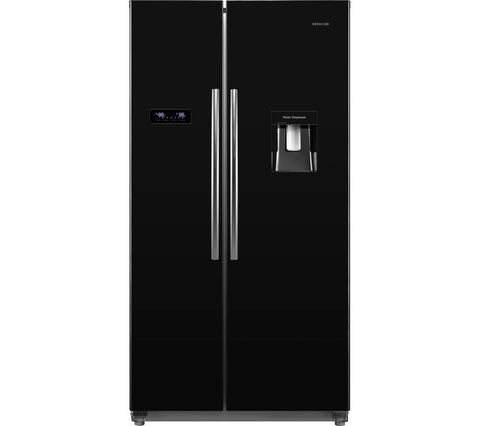 Kenwood KSBSDB15 American style Fridge Freezer - Black