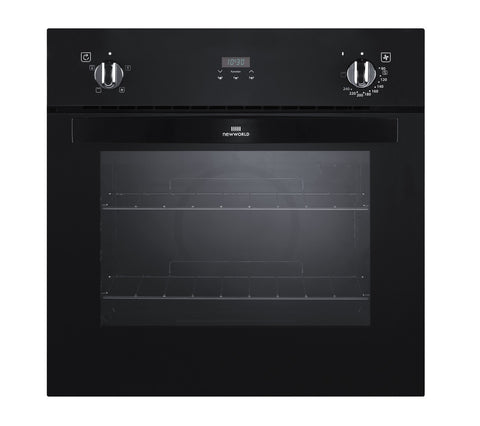 New world NW601fp build-in electric single oven black