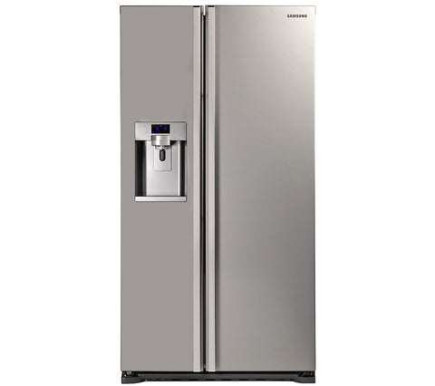 SAMSUNG RSG5UUMH American-Style Fridge Freezer Manhattan Silver Water & Ice