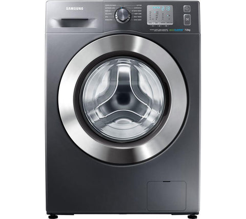 SAMSUNG ecobubble™ WF70F5EDW4X Washing Machine - Graphite