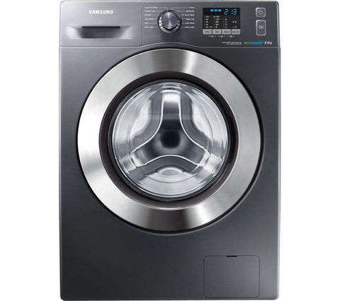 SAMSUNG ecobubble™ WF80F5E2W4X Washing Machine - Graphite