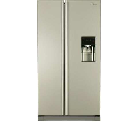 SAMSUNG RSA1RTPN American-Style Fridge Freezer - Silver (With Dispenser)