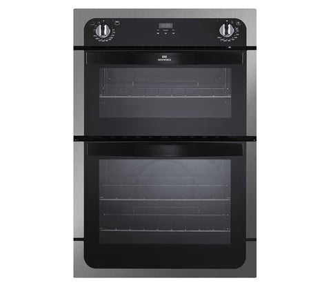 New World NW901DOP Built In Electric Double Oven - Stainless Steel - 444442272