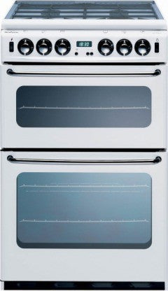 NEW WORLD NH550TSIDLM - 55cm Gas Cooker - White - 444440030