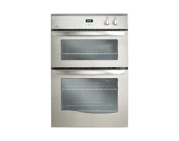 New World Nw90gwh Built In Double Gas Oven White