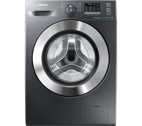 SAMSUNG ecobubble™ WF70F5E2W4X Washing Machine - Graphite