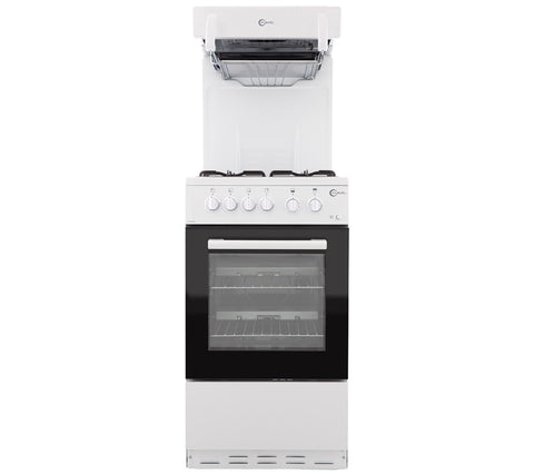 FLAVEL FHLG51W 50cm High Level Grill Gas Cooker - White