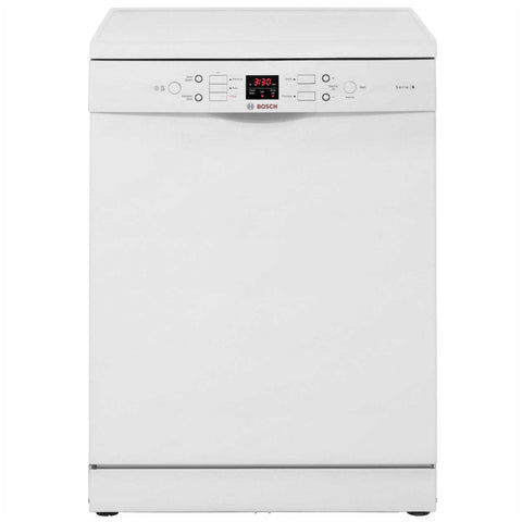 Bosch Serie 6 SMS53M02GB Standard Dishwasher - White