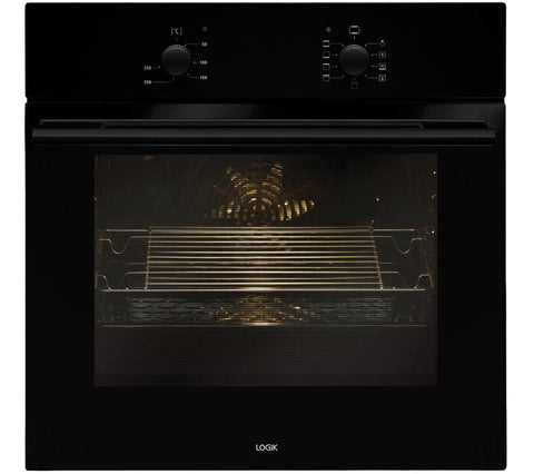 LOGIK LBFANB14 Electric Oven - Black 65l Myltifunction type