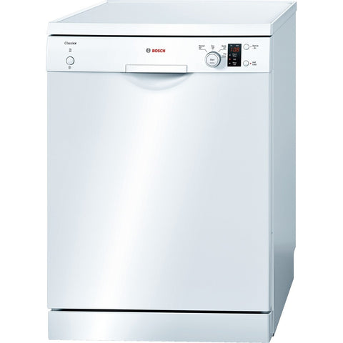 Bosch SMS40C02GB Freestanding Dishwasher, White