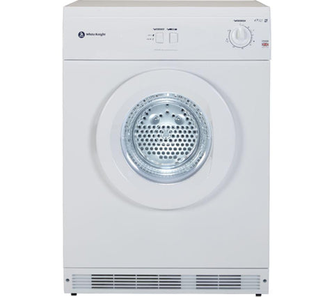 WHITE KNIGHT C44AW Vented Tumble Dryer - White  6 kg