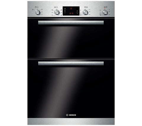 BOSCH Serie 6 Classixx HBM43B150B Electric Double Oven - Stainless Steel