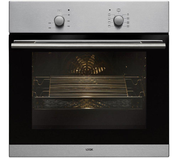 Fuel Induction Service >> LOGIK LBFANX14 Electric Oven - Stainless Steel – Safeer ...