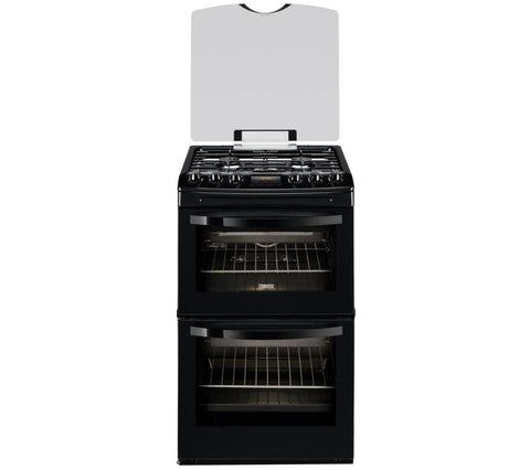 ZANUSSI ZCG43330BA Gas Cooker - Black