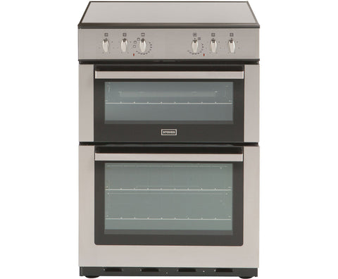 Stoves SEC60DO Freestanding Electric Cooker Stainless Steel