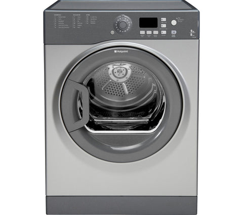 HOTPOINT FTVFG65BGG Vented Tumble Dryer - Graphite