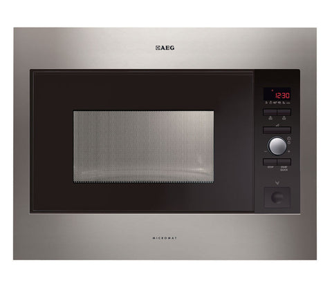 AEG MC2664E-M Built-in Solo Microwave - Stainless Steel