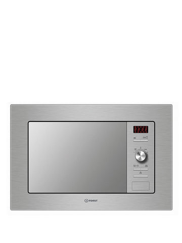Indesit MWI 122.1 X Built-in Microwave - Stainless Steel