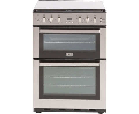 Stoves SFG60DOP Freestanding Gas Cooker - Stainless Steel