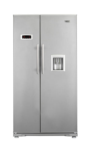 Beko GNEV220S Side-by-side Fridge Freezer with Water Dispenser