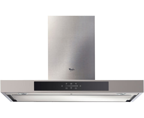 Whirlpool AKR891/IX 90cm Built In Chimney Cooker Hood - Stainless Steel