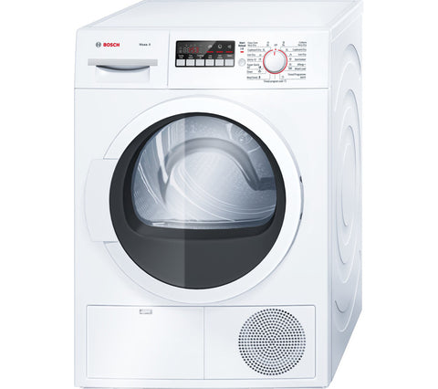 bosch maxx 8 wtb86300gb condenser tumble dryer white. Black Bedroom Furniture Sets. Home Design Ideas