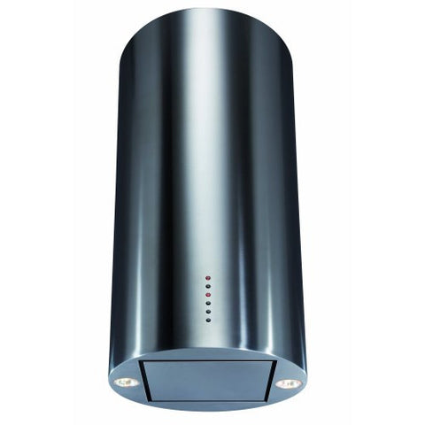 CDA EVC4SS 40cm Cylinder Chimney Hood in Stainless Steel