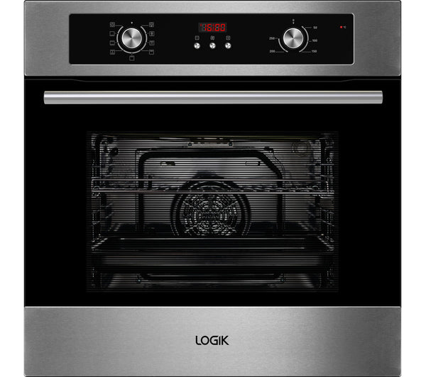 Logik Lbmfmx15 Electric Oven Stainless Steel Safeer