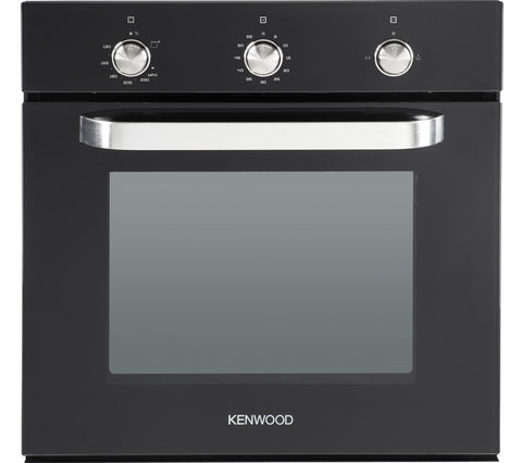 KENWOOD KS100G Full Gas Black Built-Under Oven 60cm LPG Convertible