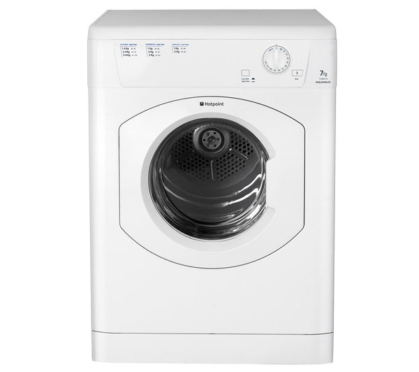 Hotpoint Aquarius Tvm570p Vented Tumble Dryer White
