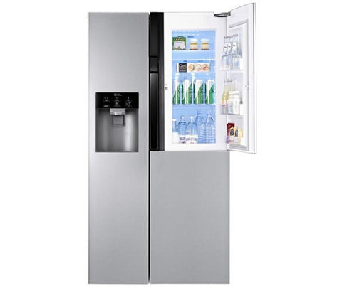 LG GS9366AEAV American-Style Fridge Freezer - Brushed Steel