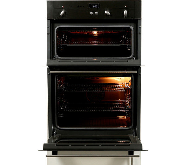 Neff U12s32n3gb Electric Double Oven Stainless Steel