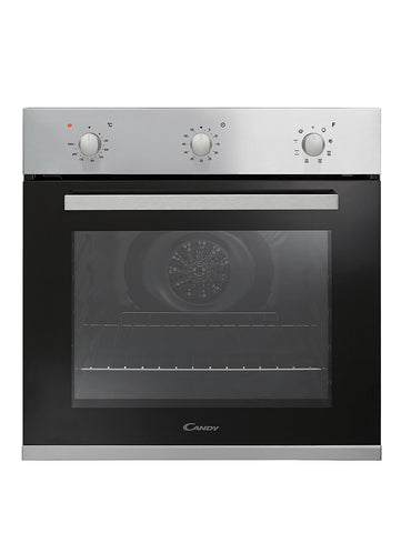 Candy FPE602X 60cm Built-in Multifunction Single Oven - Black