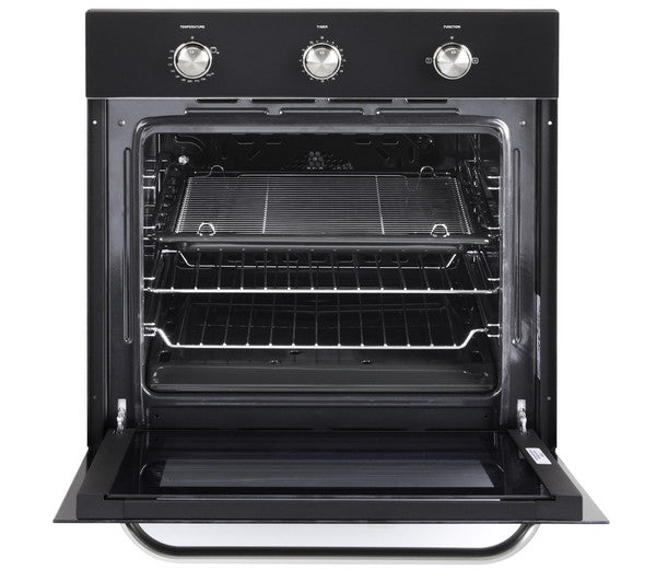 New Kenwood Ks100g Full Gas Black Built Under Oven 60cm