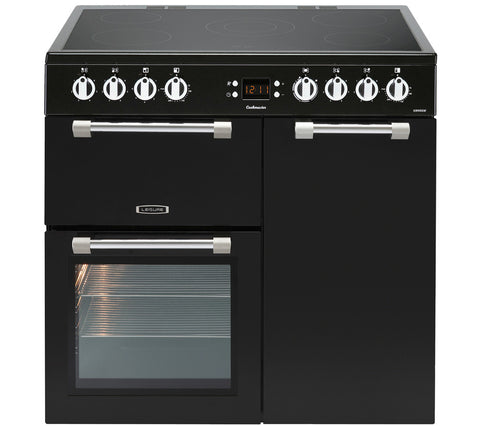 LEISURE Cookmaster 90 Electric Ceramic Range Cooker - Black