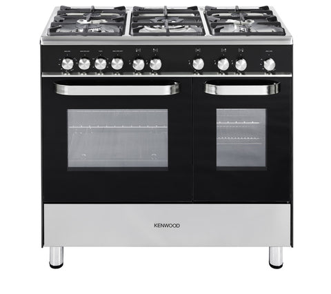 KENWOOD CK405G Full Gas Range Cooker - Black