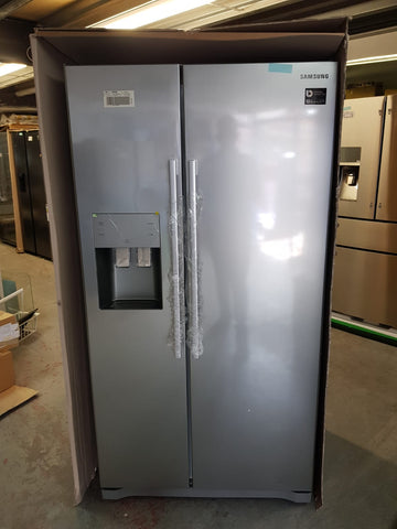 SAMSUNG RS50N3513SA Side by Side Fridge Freezer - Metal Graphite