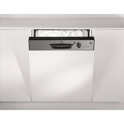 Indesit DPG15B1NX 13 Place Semi Integrated Dishwasher with Stainless Steel