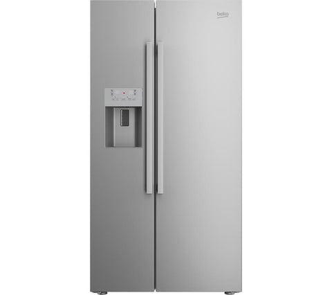 beko asp341x american style fridge freezer water ice. Black Bedroom Furniture Sets. Home Design Ideas
