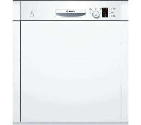 Bosch SMI50C12GB Semi-integrated Dishwasher - White